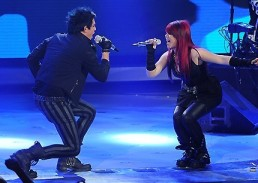 Allison Iraheta Adam Lambert Slow Ride